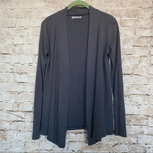 Michael Stars One Sz Fits Most Open Front Cardigan
